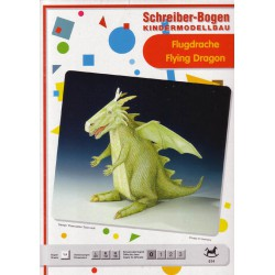 DRAGON VOLADOR, Maqueta recortable