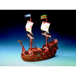 BARCO PIRATA, Maqueta recortable