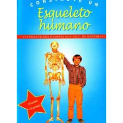 Construye un Esqueleto humano, Incluye una maqueta recortable.
