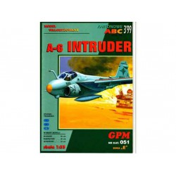 A-6 INTRUDER, maqueta recortable