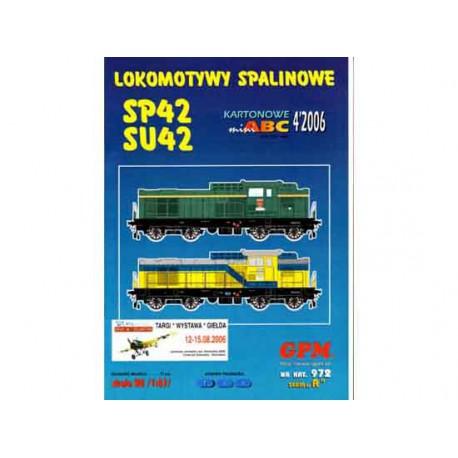 Locomotoras SP42 y SU42