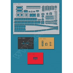 KFK 363 Laser frames, GPM, 1:100