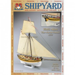 HMS Alert, The Naval Cutter, 1777, 1:96, Shipyard