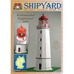 Dornbusch Lighthouse, Faro, 1:87, H0 + laser frames, SHIPYARD