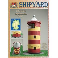 Pilsumer Lighthouse, Faro 1:87, H0 + laser frames, SHIPYARD