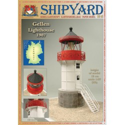 Gellen Lighthouse, Faro, 1907. 1:87, H0 + laser frames, SHIPYARD