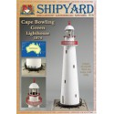 Cape Bowling Lighthouse, Faro, 1874. 1:87, H0 + laser frames, SHIPYARD
