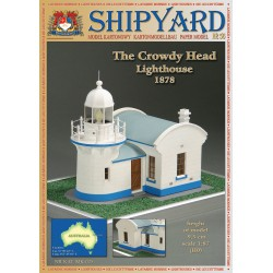 The crowdy Head Lighthouse, faro, 1878. 1:87, H0 + laser frames, SHIPYARD