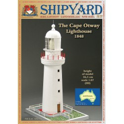 the Cape Otway Lighthouse, Faro, 1848. 1:87, H0 + laser frames, SHIPYARD