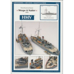 SMS Wespe and SMS Natter, HMV, 1:250
