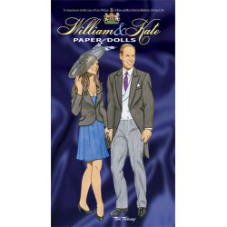 William y Kate Paper Dolls, DOVER, Tom Tierney