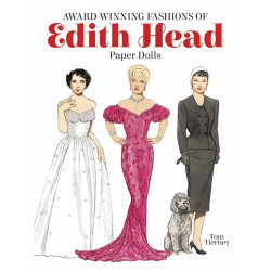 Award-Winning Fashions of Edith Head Paper Dolls, DOVER, Tom Tierney