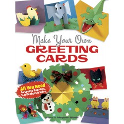 Make Your Own Greeting Cards, DOVER, Steve Biddle, Megumi Biddle