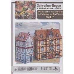 Set 7, Vamos a construir una antigua ciudad, 1:87, Schreiber-bogen.