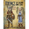 Vikings of Legend and Lore Paper Dolls, DOVER, Kiri Ostergaard Leonard