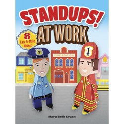 Standups! At Work: 8 Easy-to-Make Models!, DOVER, Mary Beth Cryan
