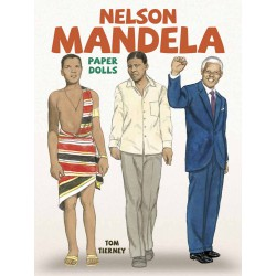 Nelson Mandela Paper Dolls, DOVER, Tom Tierney