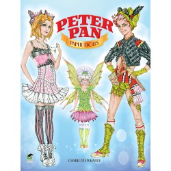 Peter Pan Paper Dolls, DOVER, Charlotte Whatley
