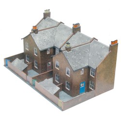Half-relief House Fronts, Superquick, 00 y H0
