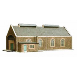 2-road Locomotive Shed, Superquick, 00 y H0