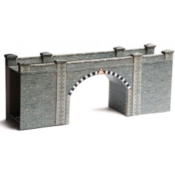 Bridge/ Tunnel Portals, Grey Brick, Superquick, 00 y H0