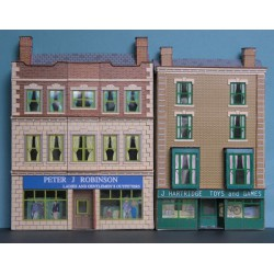 Low relief double-fronted shops, Mainstreet, 00