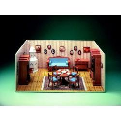 Casa de Muñecas: El comedor.