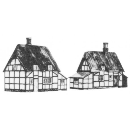 2 thatched cottages, Bilt-Eezi, N