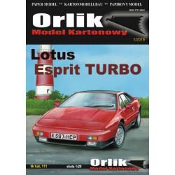 Lotus Esprit, 1:25, ORLIK.