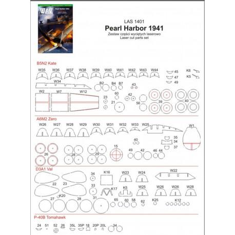 Pearl Harbor 1941, 1:33, WAK, laser frames.