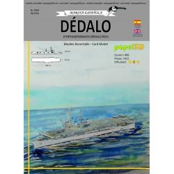 PORTAAERONAVES DÉDALO, PAPEL3D, 1:400