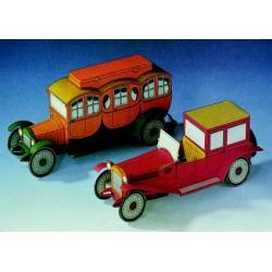 "ALFA ""LAMBDA"" 1925 & Touring confort a motor, 1913"
