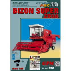 Bizon Super Z056, 1:25, GPM. Maqueta recortable.