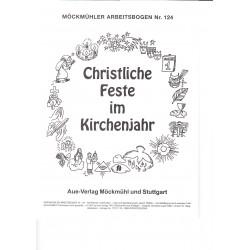 Festejos Cristianos. Aue Verlag. christliche feste im kirchenjahr