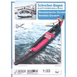 Gondola Veneciana. Schreiber-Bogen. 1:33