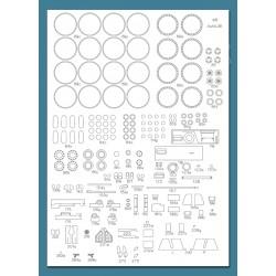 Aufklarungspanzer 38 (t) / Sd.Kfz. 140 , 1:25, GPM, Laser frames.