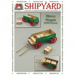 Carro de cuatro ruedas. Shipyard. 1:72