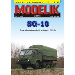 SG-10, Modelik, 1:25