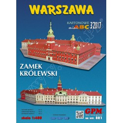 ROYAL CASTLE IN WARSAW, 1:400, GPM