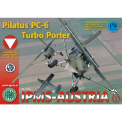 Pilatus PC-6 Turbo Porter, 1:33, IPMS
