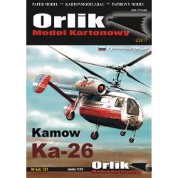 KAMOW Ka-26, ORLIK, 1:33