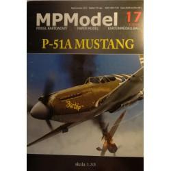 P-51A Mustang, 1:33, MPModel