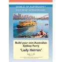 Lady Herron, 1:100. World of paperships