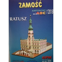 ZAMOSC - TOWN HALL, GPM, 1:150
