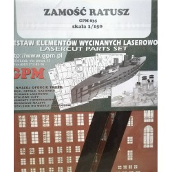 ZAMOSC - TOWN HALL, GPM, 1:150, laser frames