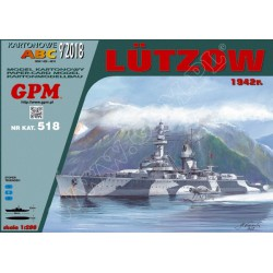 Lutzow. GPM. 1:200