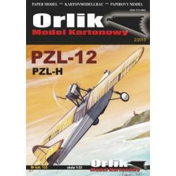 PZL-12 (PZL-H), ORLIK, 1:33