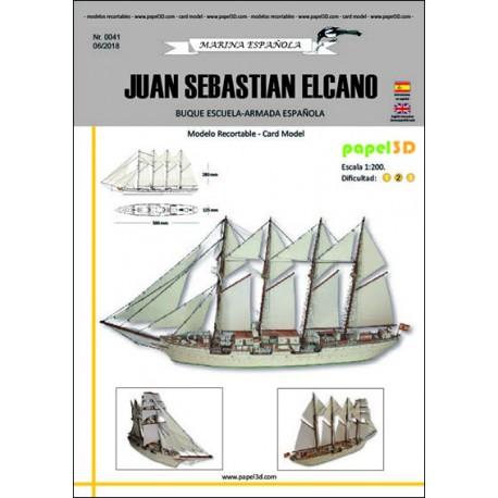 JUAN SEBASTIAN ELCANO, PAPEL3D, 1:200