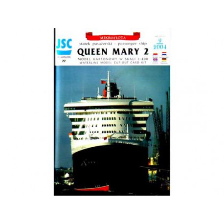 Queen Mary 2, 1:400.