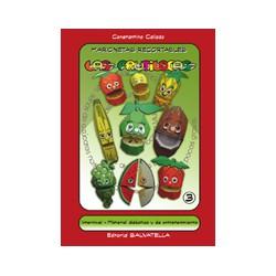 """marionetas recortables III, """"Las frutilocas"""""""